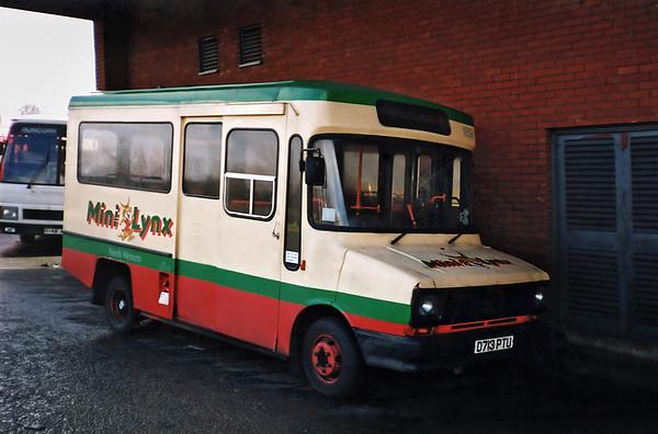 189 D713PTU, Runcorn 1/3/1991