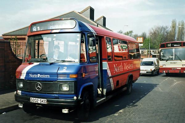 2 D202SKD, Wigan 15/4/1991