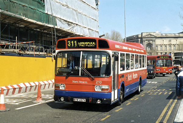 210 BYW437V, Liverpool 13/5/1996