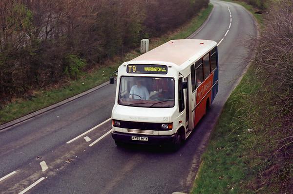 52 J735MFY, Runcorn 28/2/1995