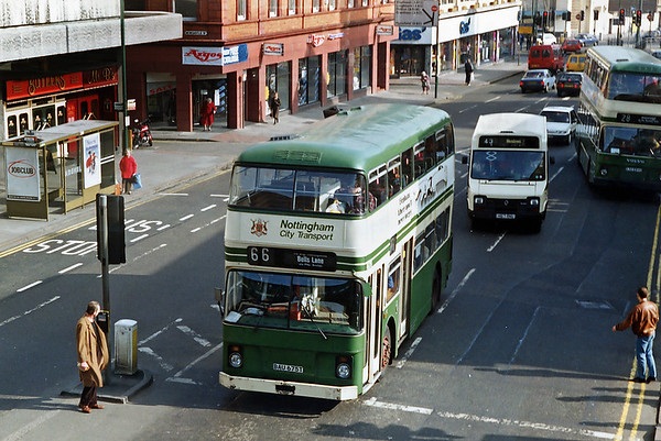 675 BAU675T, Nottingham 4/3/1992
