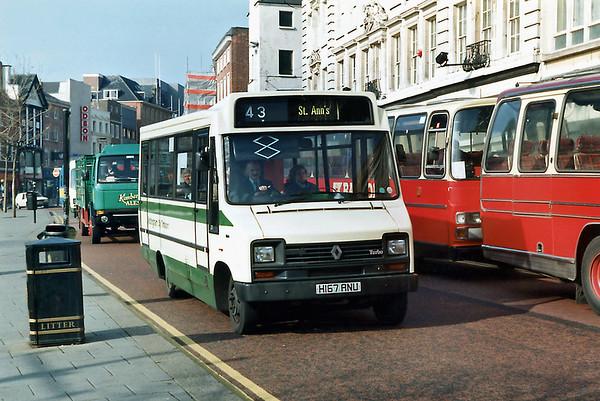 167 H167ANU, Nottingham 4/3/1992