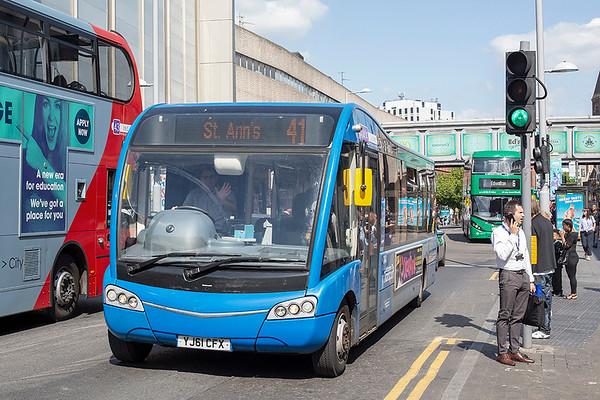 340 YJ61CFX, Nottingham 3/7/2019