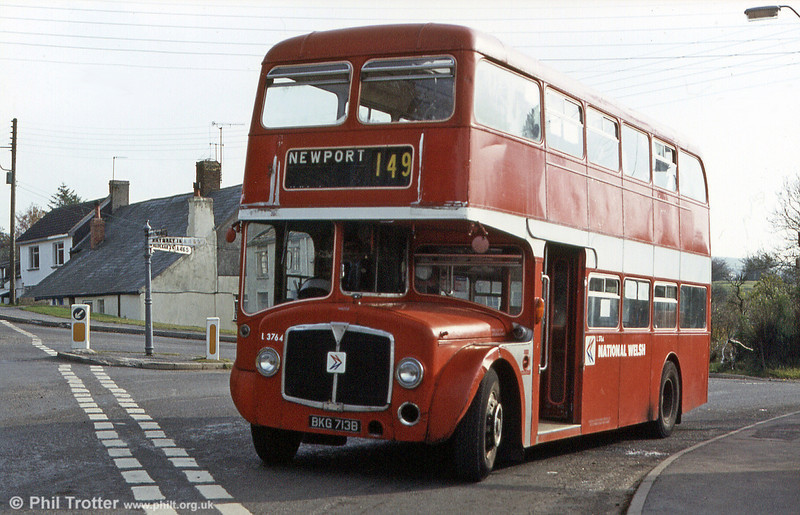 Former Western Welsh AEC Renown/Northern Counties H38/29F 713 (BKG 713B) pictured on a farewell enthusiasts' tour.