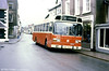 Seen at Llandovery before heading back to Brecon for the last time is Leyland National/DP48F ND1776 (NWO 462R).