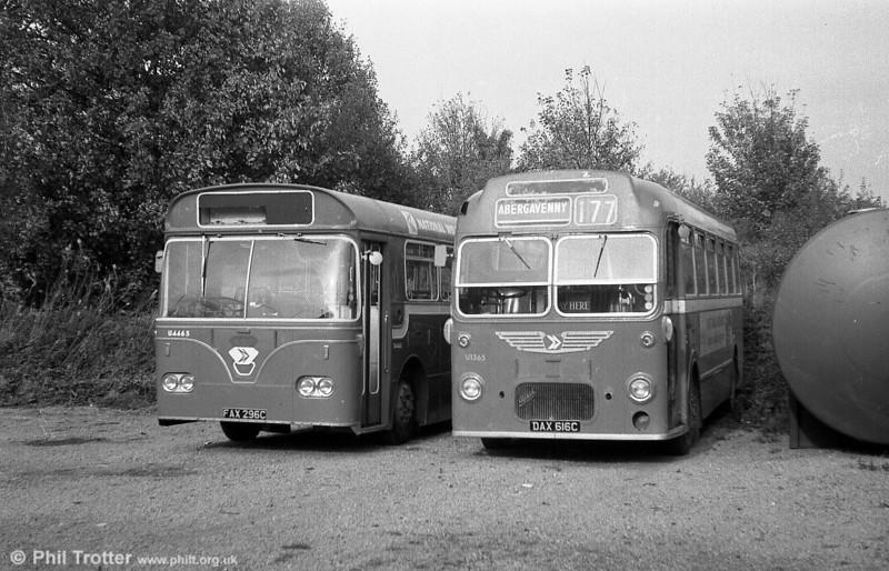 U1365 (DAX 616C), a Bristol MW6G/ECW B45F.