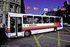 Stagecoach Rhondda 65 (M65 HHB), a Dennis Dart/Wright B39F seen in central Cardiff.