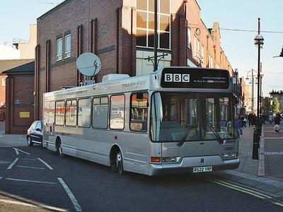 BBC R522YRP, Rotherham, November 2005