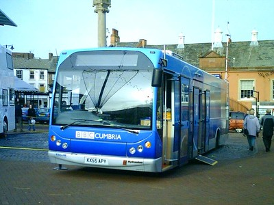 BBC KX55APY, Carlisle Market Place, 10th November 2005