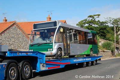 Stagecoach 47898 (MX06BSZ), Weybourne, 15th June 2014