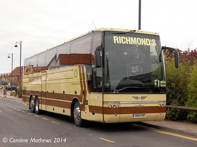 Richmond's 593FGF, Sheringham, 14th June 2014.