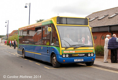 Stagecoach 47900 (YJ07EGE), Sheringham, 14th June 2014.