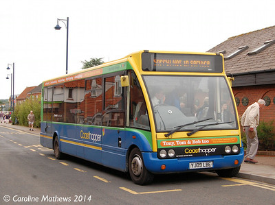 Stagecoach 47906 (YJ09LBE), Sheringham, 14th June 2014.