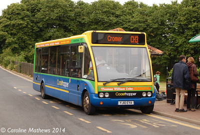 Stagecoach 47911 (YJ10EYA), Sheringham, 14th June 2014