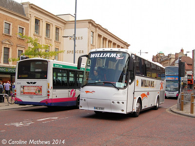 Williams WIL9787, St Stephen's Street, Norwich, 17th June 2014