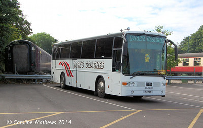 Jack's Coaches N3PSW, Sheringham, 14th June 2014.