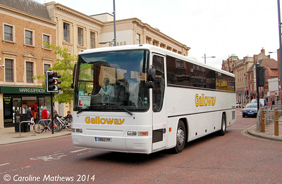 Galloway 3860PP, St Stephen's Street, Norwich, 17th June 2014