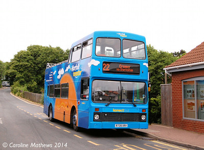 Konectbus 50 (R739XRV), Sheringham, 14th June 2014