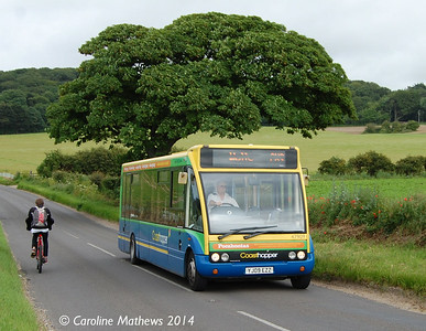 Stagecoach 47909 (YJ09EZZ), 15th June 2014