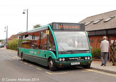 Stagecoach 47899 (MX56ABO), Sheringham, 14th June 2014