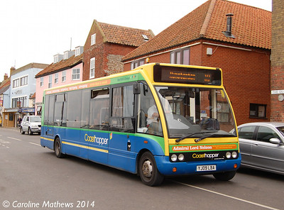 Stagecoach 47904 (YJ09LBA), Wells-next-the-Sea, 16th June 2014