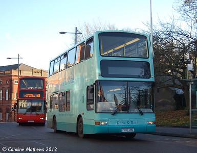 Norse 7169 (PN03UMC), Norwich, 23rd November 2012