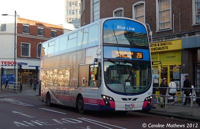 First 36178 (BD11CDX), Norwich, 23rd November 2012