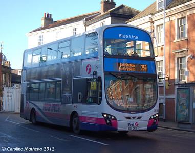 First 36169 (BD11CFO), Norwich, 23rd November 2012