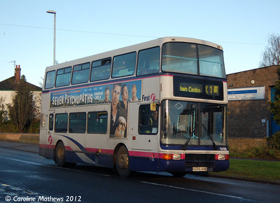 First 34186 (S686AAE), Acle, 23rd November 2012