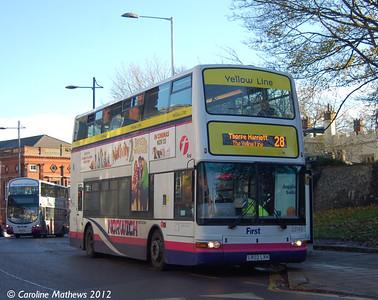 First 33149 (LR02LXH), Norwich, 23rd November 2012