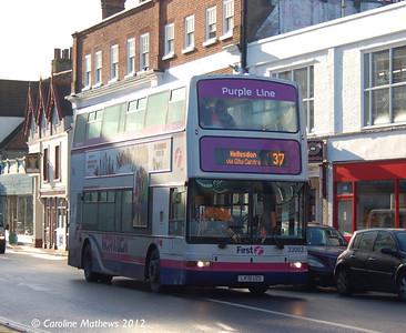 First 33003 (PK51UZS), Norwich, 23rd November 2012