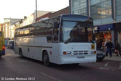 Norwich School F459NDV, Norwich, 23rd November 2012