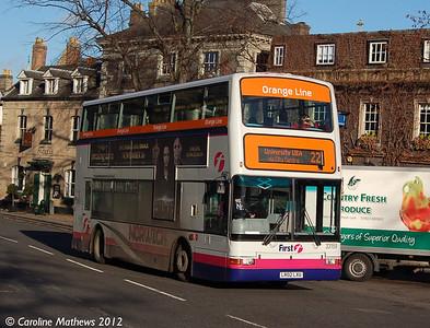 First 33159 (LR02LXU), Norwich, 23rd November 2012.
