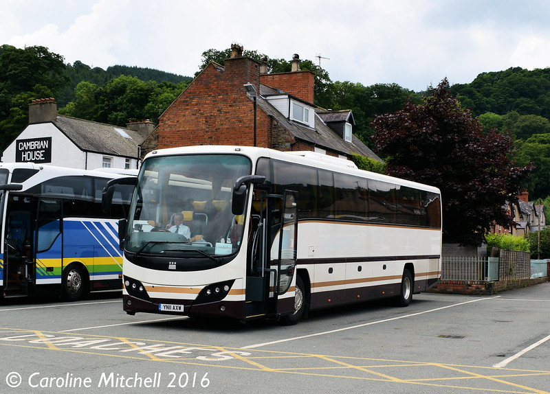Olympia YN11AXW, Llangollen, 16th June 2016