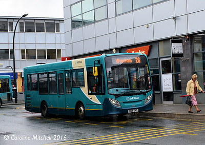 Arriva Cymru 2148 (DK15EHC), Lord Street, Wrexham, 13th June 2016