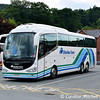 Ulsterbus 133 (FFZ9133), Llangollen, 15th June 2016