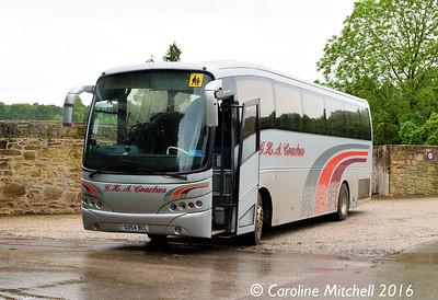 GHA Coaches GO54BCL, Erddig, 13th June 2016