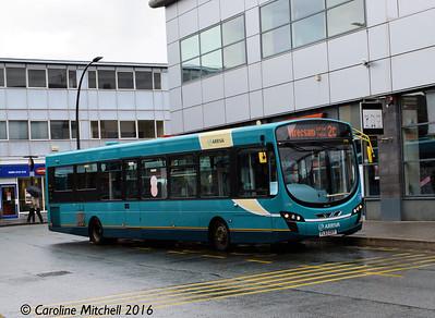 Arriva Cymru 3790 (FL63DXY), Lord Street, Wrexham, 13th June 2016