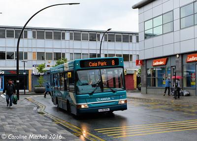 Arriva Cymru 919 (LJ51DDA), Lord Street, Wrexham, 13th June 2016