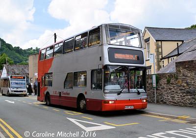 GHA Coaches W465WGH, Parade Street, Llangollen, 15th June 2016