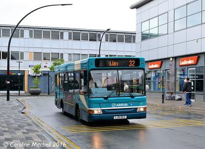 Arriva Cymru 918 (LJ51DCZ), Lord Street, Wrexham, 13th June 2016