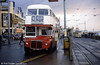 Routemaster 527 (WLT 879) at the Tower, 4th November 1989.