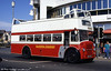 A closer view of 532 (DHC 784E), a Leyland PD2A/East Lancs H32/28R, at the Pleasure Beach in April 1994.