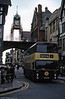 91 (KFM 191T), a 1979 Leyland Fleetline with the favoured Northern Counties body has just passed beneath the Victorian Eastgate Clock.