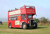 A heavily modified vehicle is former Lytham St. Annes 69 (CTF 626B), a 1964 Leyland PD2A/27 (Chassis LO3682) which in original condition carried Massey H37/27F bodywork. It has been used by Gower Heritage Centre on Gower tours, as seen here at Rhossili on 3rd September 2006. Amongst the bus's other claims to fame is that it once undertook promotional work in Germany. Thankfully, a sister vehicle has been preserved in original condition.