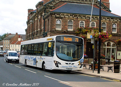 Dales and District 05 (YJ59AYZ), Northallerton, 8th August 2011