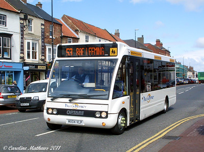 Dales and District 09 (MX04VLP), Northallerton, 8th August 2011