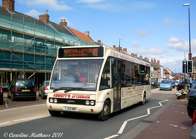 Abbotts of Leeming 1 (YJ59NMO), Northallerton, 8th August 2011