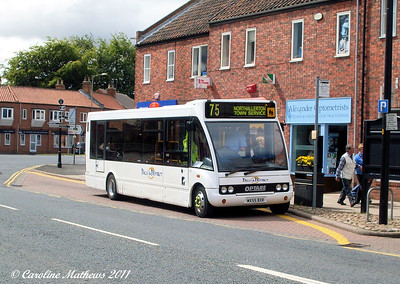 Dales and District 11 (MX55BXR), Northallerton, 8th August 2011