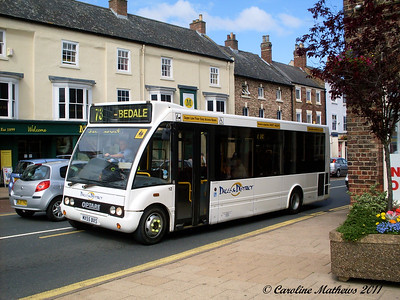 Dales and District 12 (MX55BXS), Northallerton, 8th August 2011